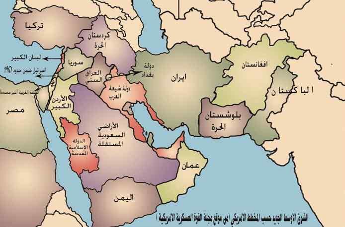 شاهد خريطة اليمن الموحد وعودة الجنوب لأصحابه وتقسيم السعودية توشكا نيوز